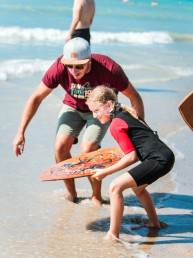 cours skimboard