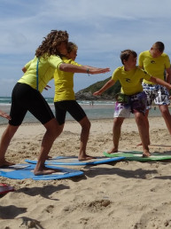 initiation skimboard skim school tour