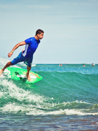 demo skimboard competition